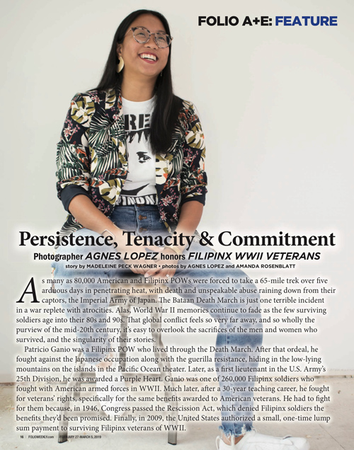 Agnes Lopez in Folio Weekly